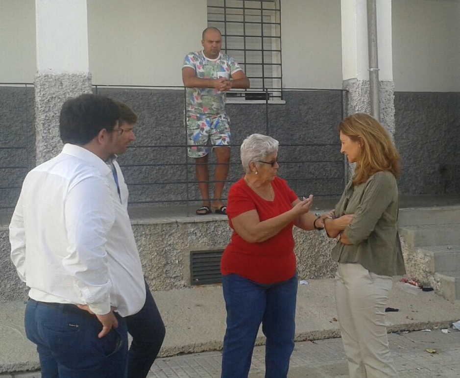 El PP reclama a la Junta de Andalucía el inicio de las obras de rehabilitación de la Barriada Las Viñas en Lora del Río
