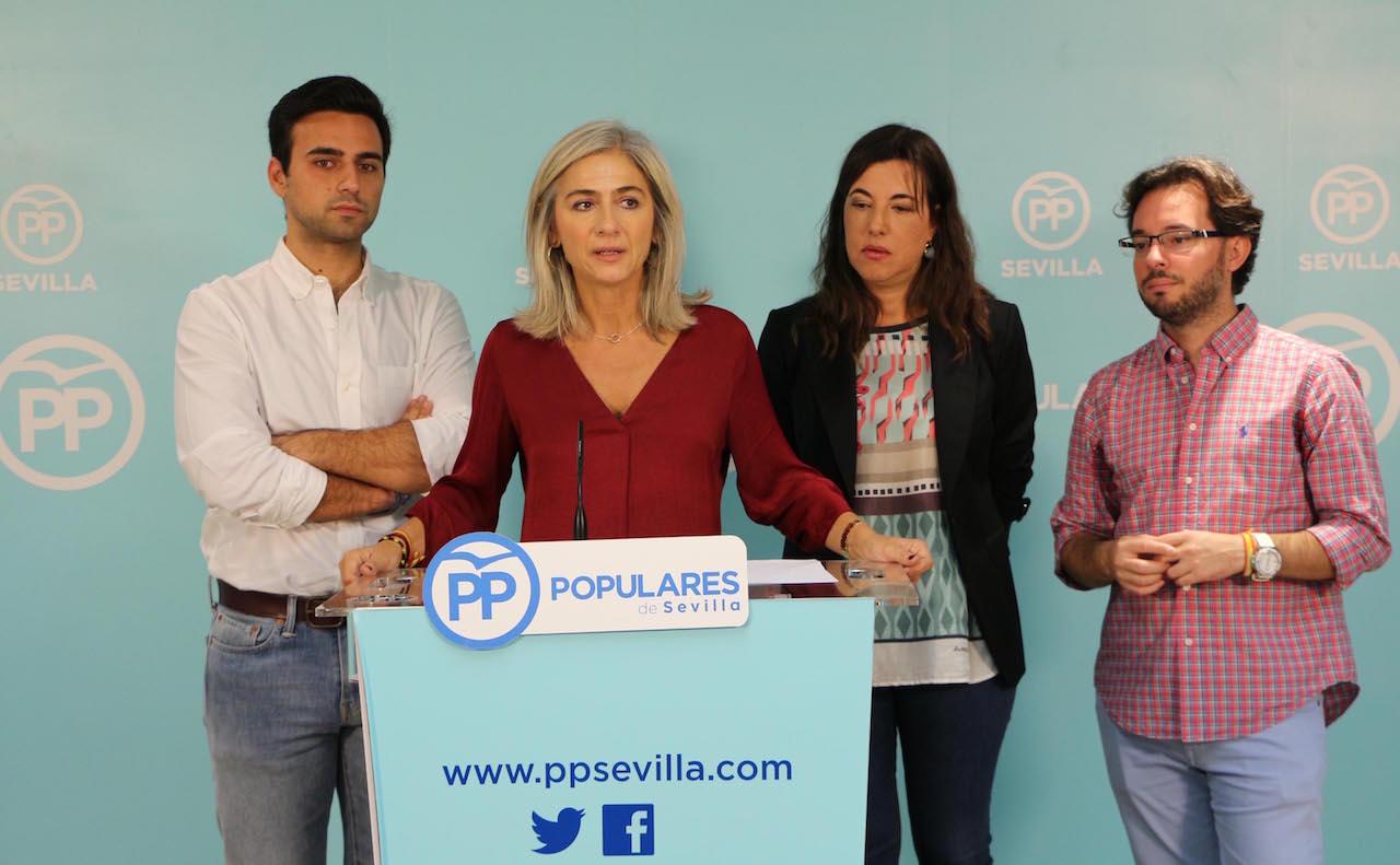"""El PP defiende que Rajoy ha dado """"oportunidades laborales"""" a 49.867 jóvenes frente al """"desastre"""" de la Junta"""