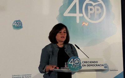"""Virginia Pérez: """"Un incremento del 420 por cien de las herencias rechazadas en la provincia es prueba suficiente de la asfixia del Impuesto de Sucesiones"""""""