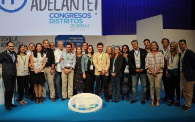 El PP celebra el XIV Congreso de Distritos con el 'Objetivo: Sevilla 2019'