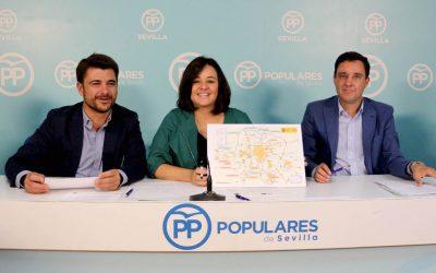 """Mociones del PP a la Diputación y el Ayuntamiento para reclamar el """"reinicio"""" de los túneles de la SE-40"""