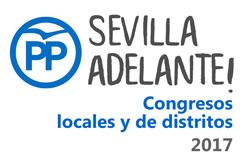 El PP de Sevilla celebra el sábado, diez de los once congresos de distritos