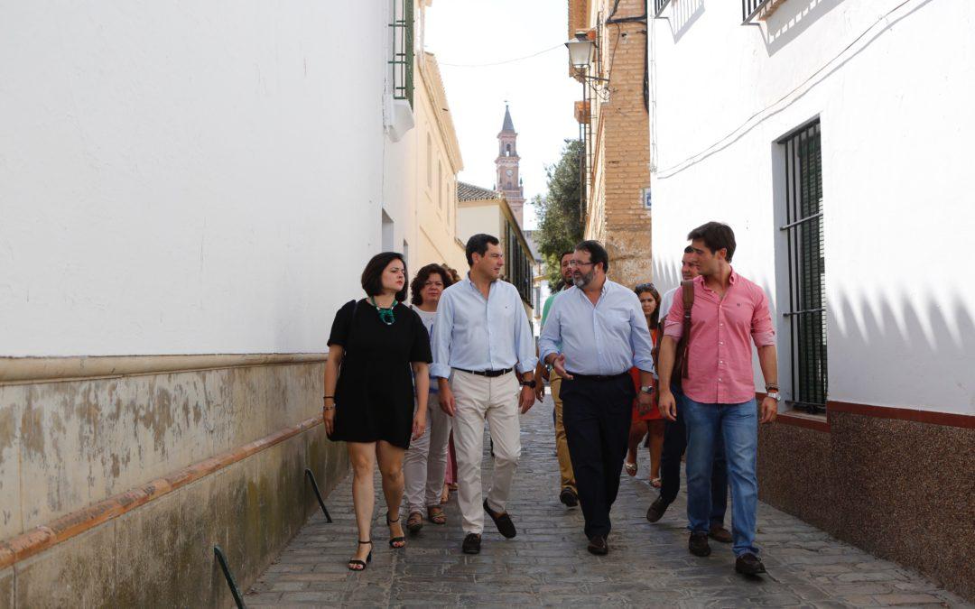 Moreno exige a Díaz más recursos ante el portazo de Sánchez a la crisis migratoria en Andalucía