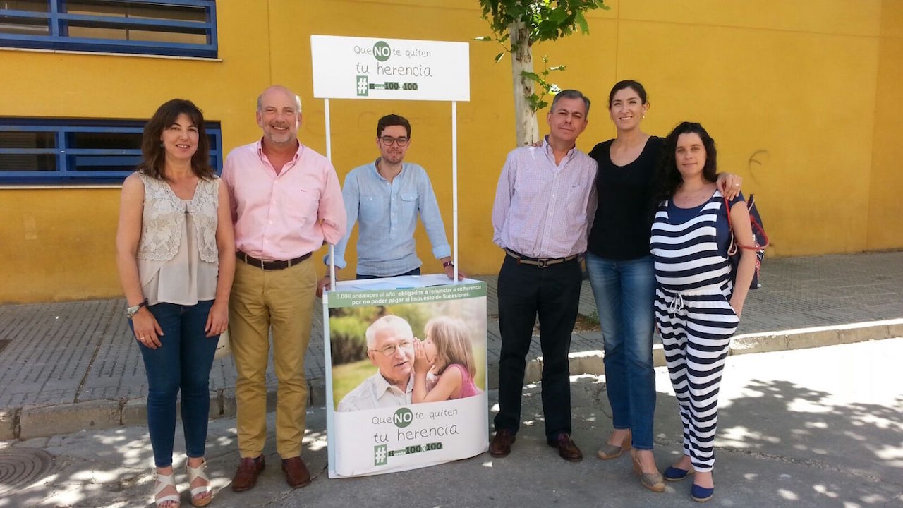 José Luis Sanz visita el municipio de Écija