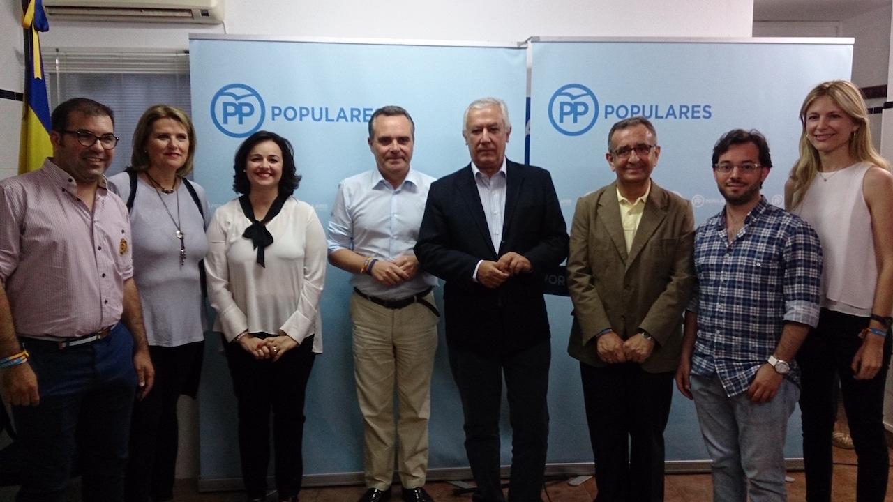 El PP de Sevilla participa en la inauguración de la nueva sede del PP de Gines