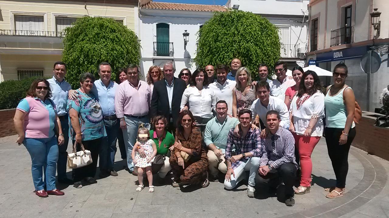 Arenas y Bueno visitan Villaverde del Río y Cantillana