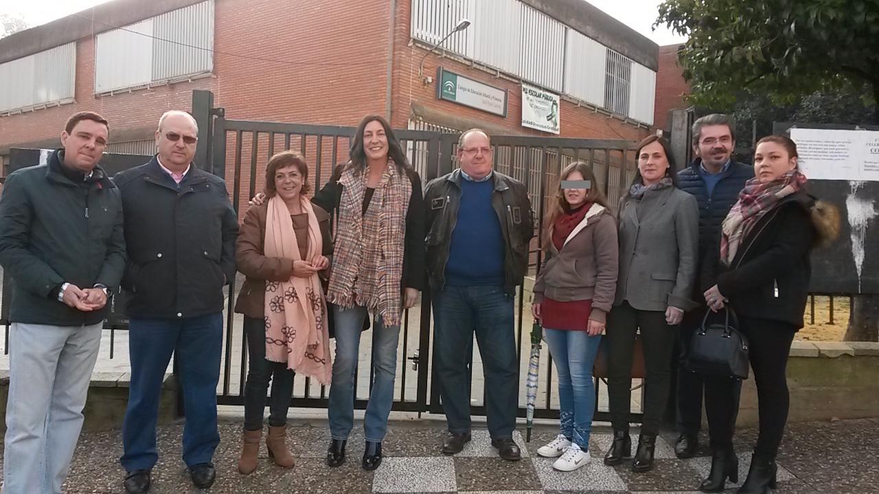 El PP reclama en el Parlamento partidas para mejorar las instalaciones del CEIP Payan Garrido en San Juan de Aznalfarache