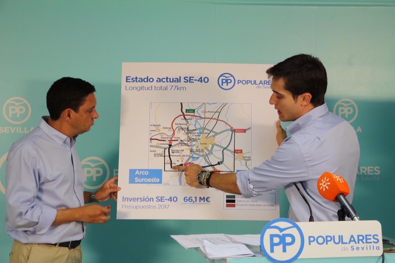 """PP destaca la apuesta por las infraestructuras del Gobierno frente a los """"eternos incumplimientos del PSOE"""""""