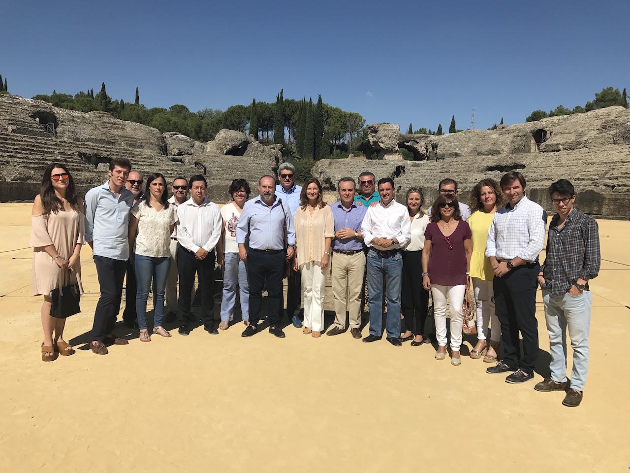 El PP de Sevilla apoya la candidatura de Itálica como Patrimonio de la Humanidad y exige mayor compromiso de la Junta