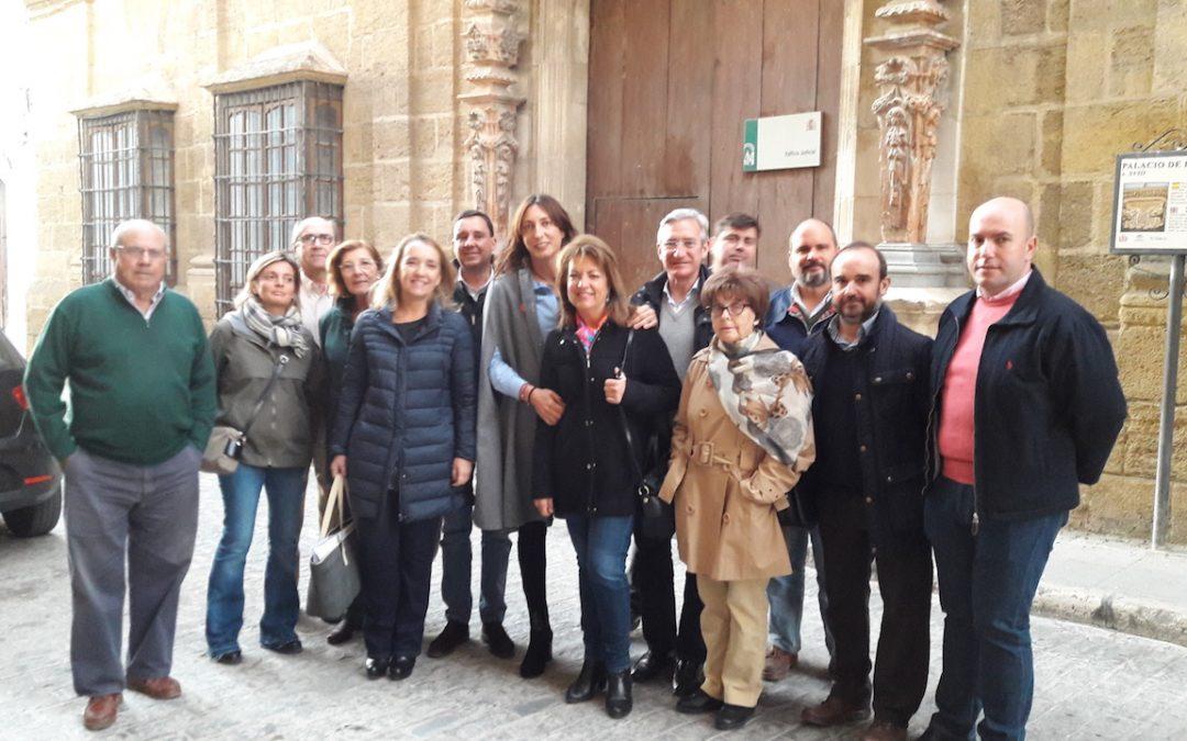 """Loles López: """"La Junta de Andalucía lleva más siete años sin arreglar la antigua sede judicial de Osuna a pesar de las promesas"""""""