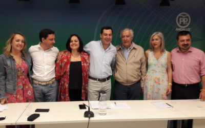 """Virginia Pérez: """"Mientras Pedro Sánchez se dedica a su aventura, en la provincia hay 8.000 empleos del sector de la Aceituna de Mesa en riesgo"""""""