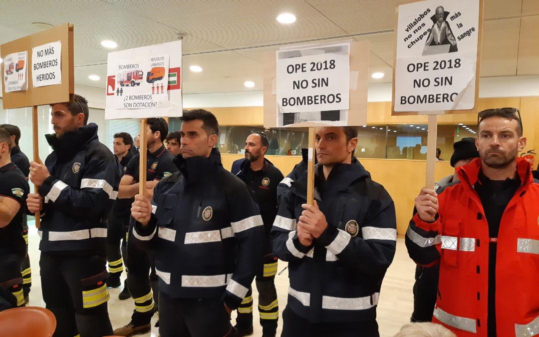 El PP de Sevilla pide al presidente de Diputación que solucione con urgencia la situación de los Bomberos del Aljarafe