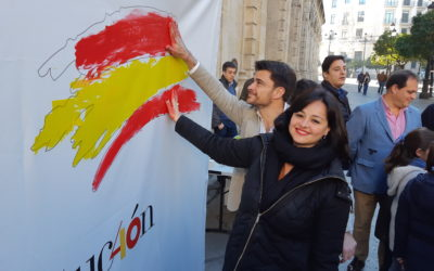 """Virginia Pérez: """"El PSOE debe aclarar su posición sobre la unidad territorial de España"""""""