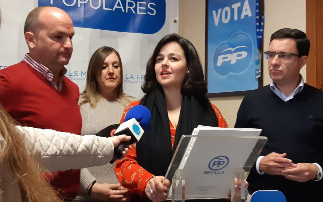 El PP de Sevilla lamenta que el Partido Socialista haya renunciado a la construcción del Hospital Comarcal de Morón de la Frontera