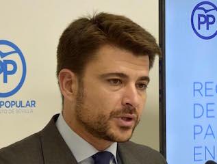 Beltrán Pérez traslada a la Presidenta de la Junta de Andalucía el acuerdo plenario para el incremento de la PATRICA