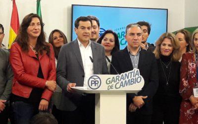 Pablo Casado emplaza a Juanma Moreno a liderar el cambio en Andalucía