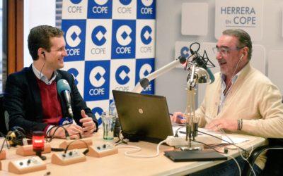 """Pablo Casado: """"Estamos ante una oportunidad histórica para el cambio en Andalucía"""""""