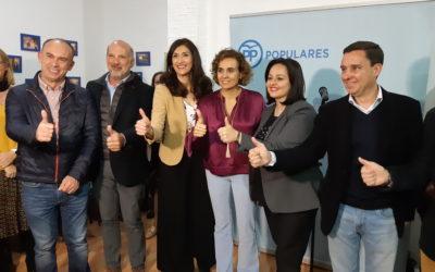 """Virginia Pérez: """"Con Silvia Heredia, Écija volverá a ser una gran ciudad de oportunidades y calidad de vida para los astigitanos"""""""