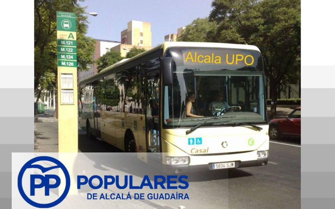 El PP de Alcalá reclama un autobús lanzadera con la Universidad Pablo de Olavide