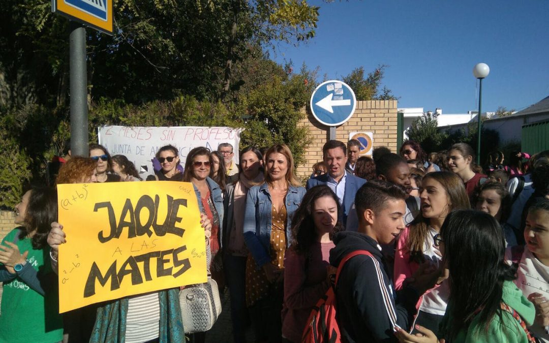 En apoyo a la comunidad educativa del IES Pablo Neruda de Castilleja de la Cuesta