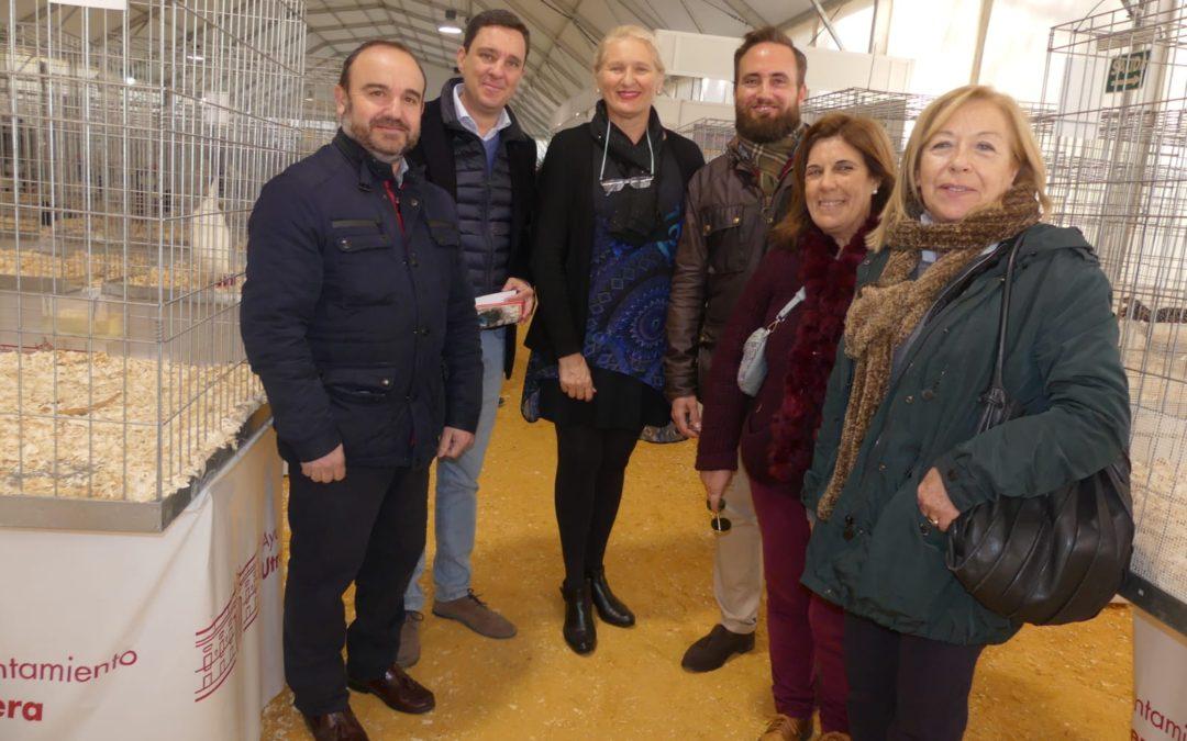 El PP de Sevilla apoya a los criadores de las Gallinas Utreranas y augura un futuro prometedor como actividad económica para la comarca