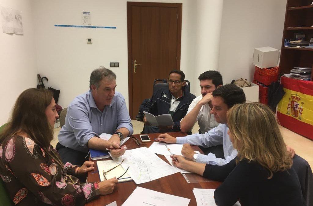 Encuentro preparatorio de las elecciones en Gelves