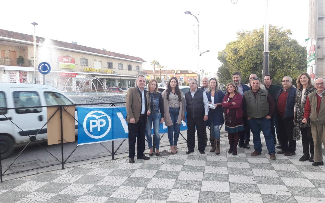 """Zoido: """"El PP será el partido que por fin impulse la construcción de la circunvalación de Guillena tras años de incumplimientos del PSOE"""""""
