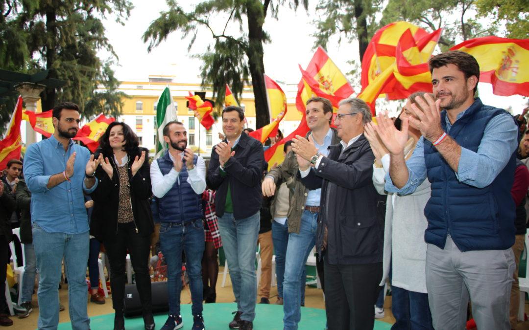 """Casado: """"Solo el PP puede liderar el constitucionalismo en España"""""""
