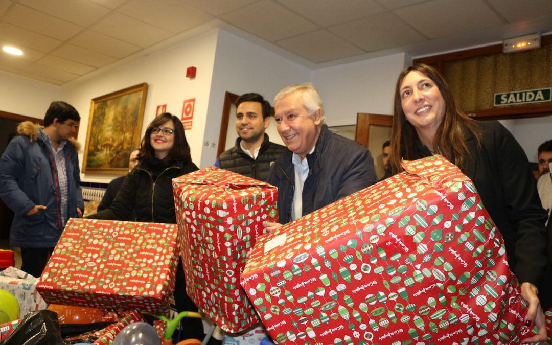 NNGG de Sevilla recauda 2.000 juguetes en el doceavo año de su campaña solidaria 'Ningún Niño Sin Juguete'