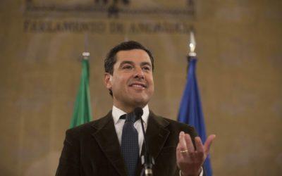 Juanma Moreno se somete desde este martes al debate de investidura como presidente de la Junta de Andalucía