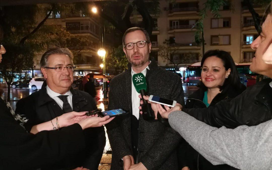 """Maroto en Sevilla: """"El PP es la única opción útil de cambio"""""""