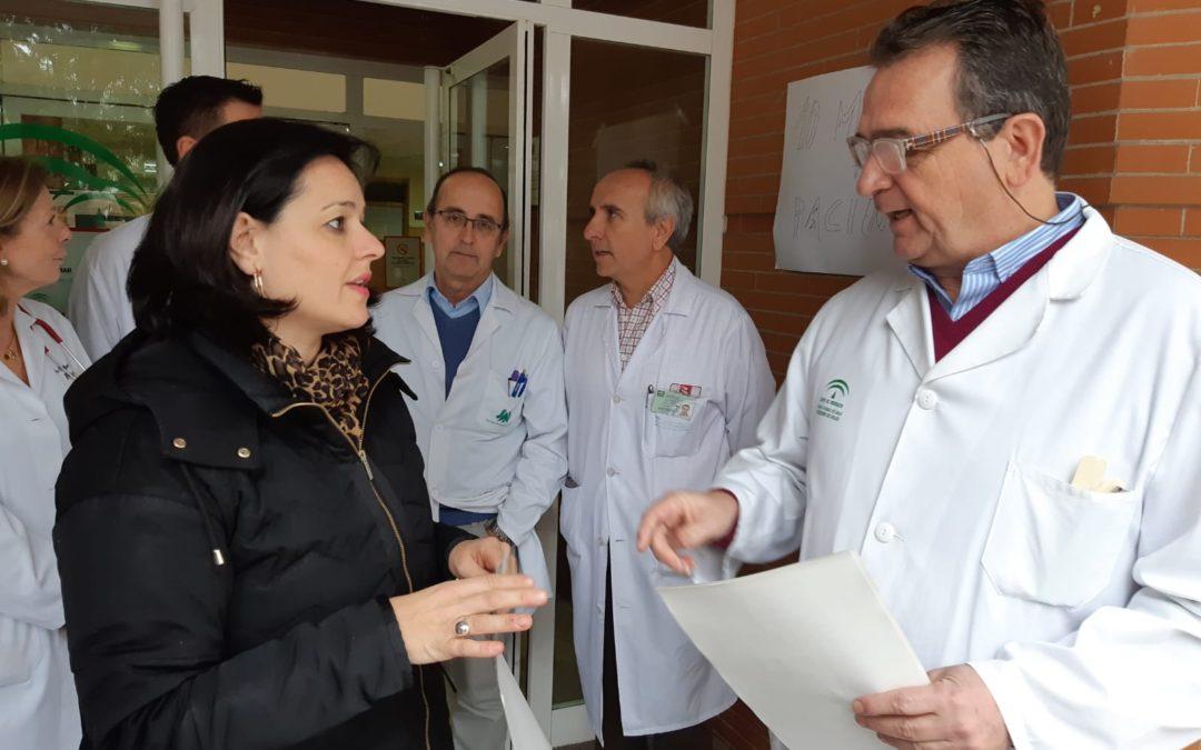 """Virginia Pérez reclama a Susana Díaz personal sanitario en los colegios que lo requieran para que """"no ocurran casos como los del pequeño Abel"""""""