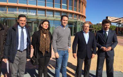 """García Egea afirma que el PP no dará """"ni agua"""" al PSOE frente a posibles pactos puntuales del """"flotador naranja"""""""