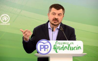 """Toni Martín: """"Hay que alcanzar cuanto antes un pacto de gobierno que permita poner en pie el futuro de los andaluces"""""""