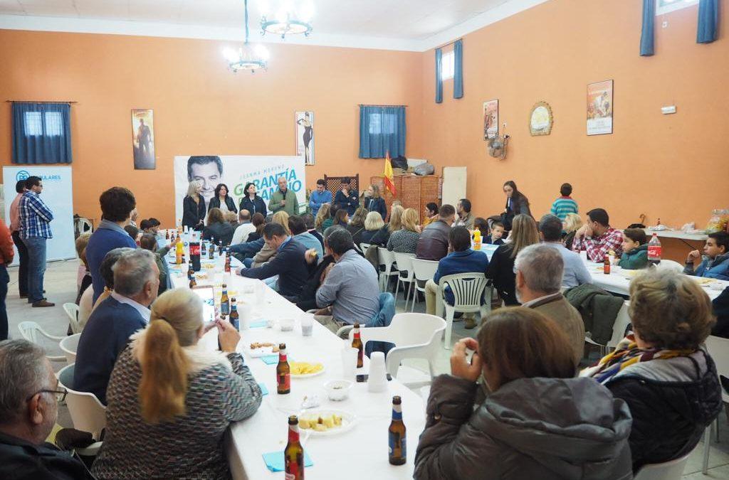 Domingo electoral en Sevilla, Gelves y Huévar del Aljarafe. El cambio está en marcha