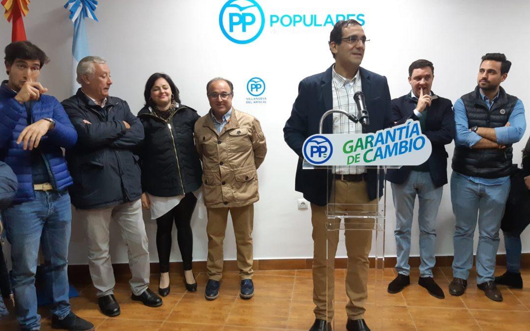 """Virginia Pérez reclama que el exalcalde de Villanueva del Ariscal y el PSOE """"expliquen"""" el cobro de tributos"""