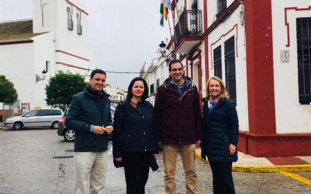 El PP denuncia la asfixia del gobierno de Susana Díaz al Ayuntamiento al mantener la deuda 760.000 euros de la PATRICA y más de 100.000 de Ayuda a Domicilio
