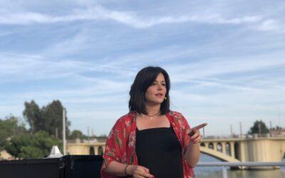 """Virginia Pérez: """" El 8M tenemos que tener la libertad de no sentirnos obligadas por fuerzas políticas a hacer nada que no queramos hacer"""""""