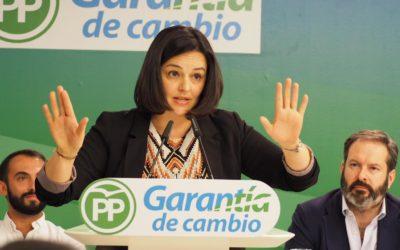 """Virginia Pérez: """"Lo que no son cuentas son cuentos. Tenemos un 31% de andaluces por debajo del umbral de la pobreza"""""""