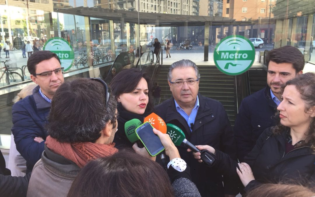 El PP de Sevilla sitúa al Metro de Sevilla como una prioridad de gobierno y a la Junta como la única competente