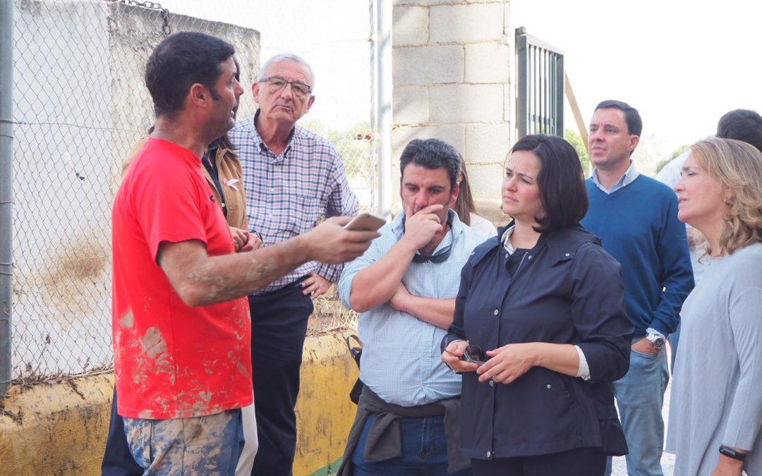 """Virginia Pérez: """"Hemos presentado una iniciativa urgente en Diputación para que se gestionen ayudas a los municipios afectados por las riadas"""""""