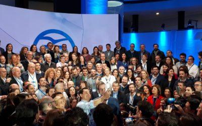 El PP de Sevilla vive intensamente la segunda jornada de la Convención Nacional
