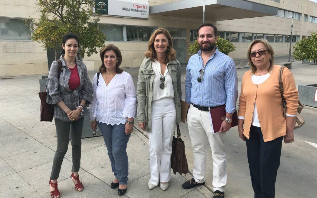 """El PP de Sevilla alerta de la """"caótica situación"""" del Hospital de Utrera, desbordado por la reducción de plantilla"""