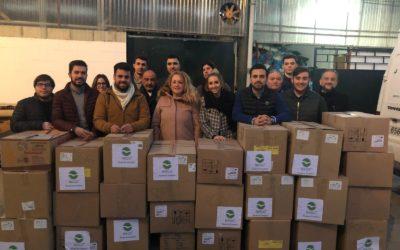 NNGG de Alcalá de Guadaíra entrega más de 400 kilos de ropa para las familias más desfavorecidas