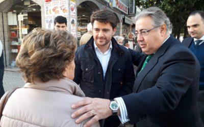 """Zoido: """"Allá donde gobierna el PP se paga la dependencia y donde gobierna el PSOE hay que esperar a que se reconozcan los derechos"""""""