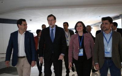 """La presidenta del PP de Sevilla, Virginia Pérez: """"somos el partido que cumple"""""""