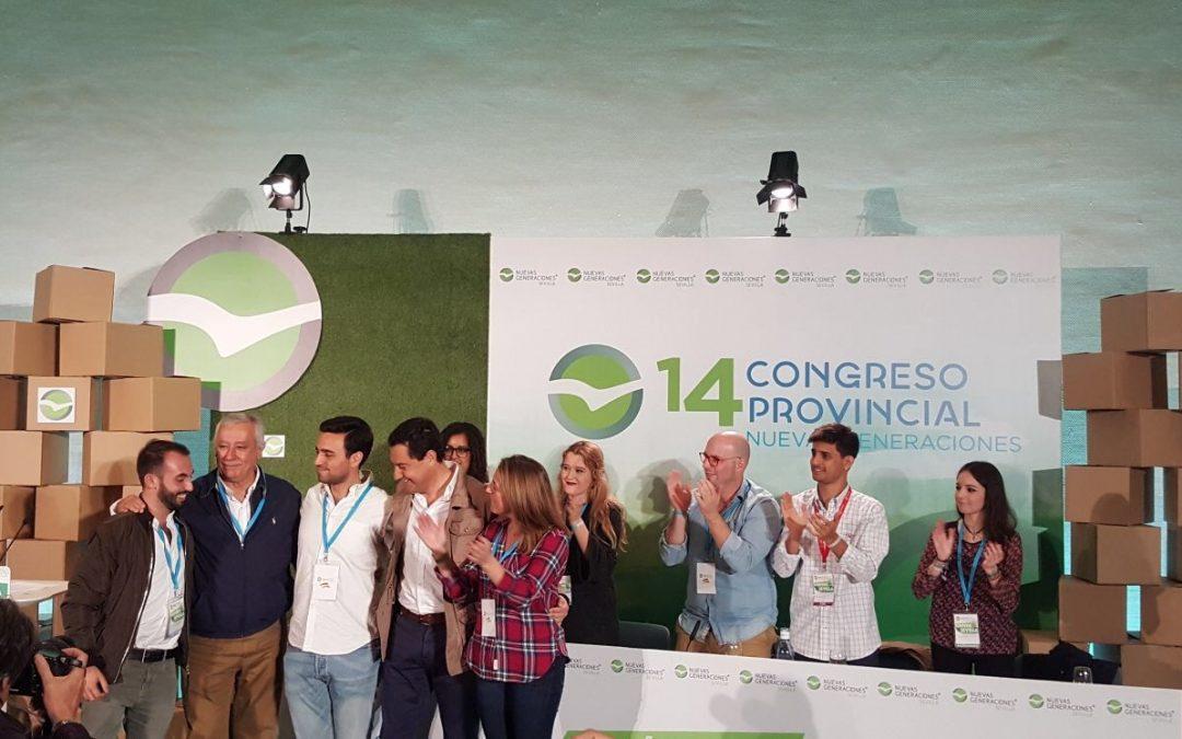 Pedro González nuevo presidente de NNGG de Sevilla
