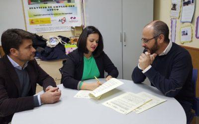 El PP de Sevilla firma un convenio con Asedown España para la realización de prácticas en el partido